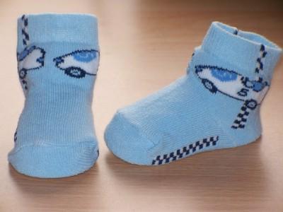 Boys prem baby socks 000 5-8lb ON THE RACING CIRCUIT