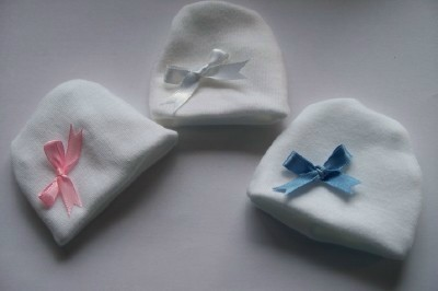 MICRO Tiny baby hat any size in CM bereavement  HAT 0-1LB.