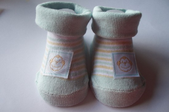 boys newborn baby clothing SOCKS 5-8lb 000 Monkey SEE Monkey DO