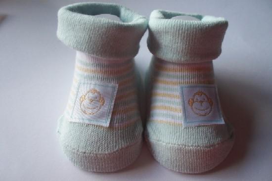 boys newborn baby clothing SOCKS 5-8lb 000 Monkey SEE Monkey DO