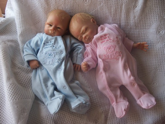 PINKvelour Micro Prem newborn babygrow sleepsuit TINY TED 3-5lb