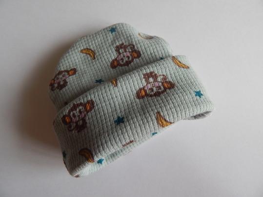 preterm baby clothes beanie hat Premature babies FUNKY MONKEY 2-3LB