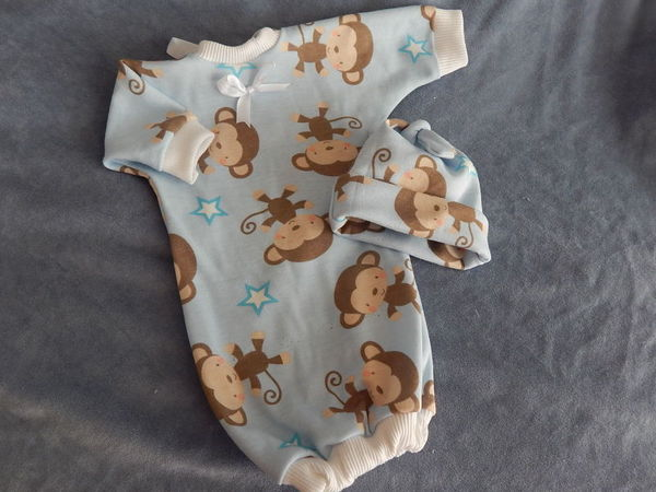 premature baby loss bereavement clothes babies burial  MONKEY DREAMLAND 2-3lb size