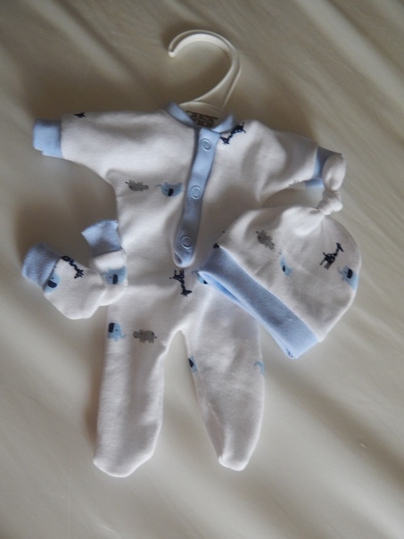 bereavement baby clothes premature babies born 23-24 weeks ZOOBUDDIES  1-2lb