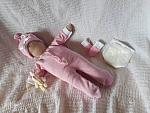 complete girls baby bereavement clothes BUNNYS WONDERLAND born at 23-24 week