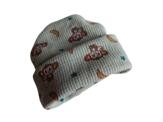 early baby beanie hat Prem babies FUNKY MONKEY 2-3LB