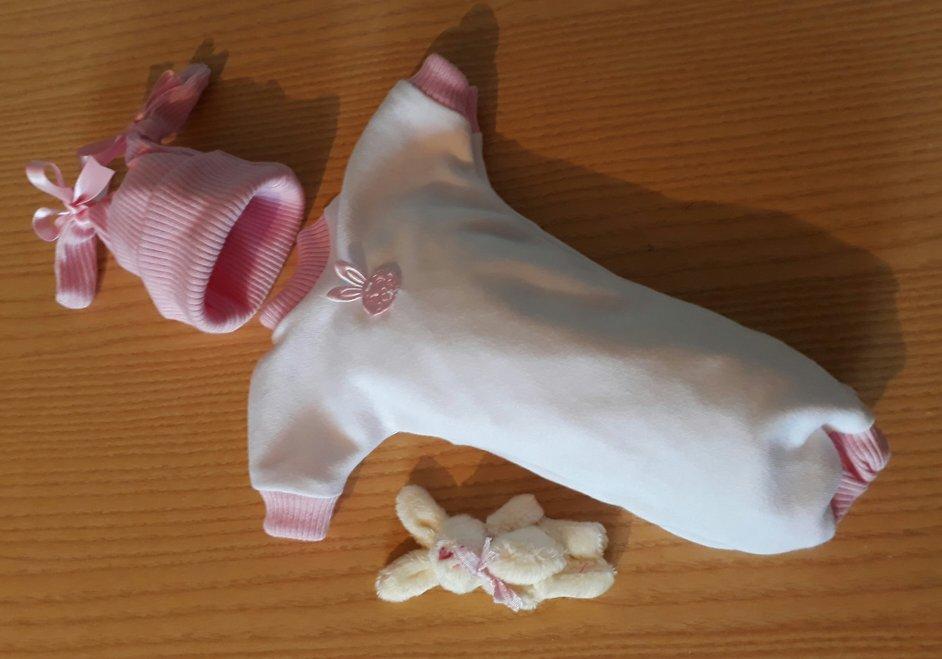 girls baby bereavement clothes born stillborn at 20 weeks BUFFY BUNNY
