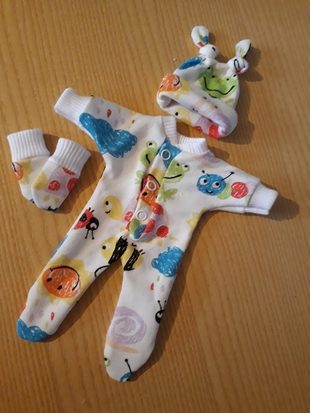 miscarriage girls tiny baby bereavement clothes born 20 weeks LILY LADYBIRD