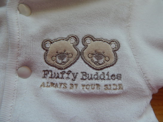 prem babies coat tiny baby jacket VANILLA TEDDIES 3-5LB premature size