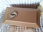 premature baby burial caskets uk Wooden fetus 0-26 weeks LITTLE FOOT