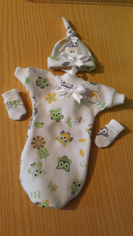 unisex baby bereavemant gowns clothes set TWITTERBYES Unisex born at 20weeks