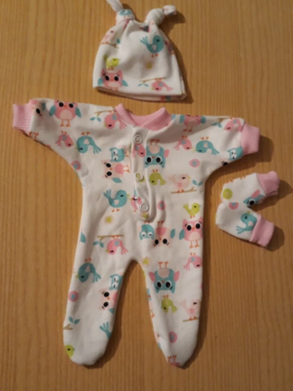 girls smallest baby bereavement clothes stillborn at 24 weeks TOPSY TURVY OWLS
