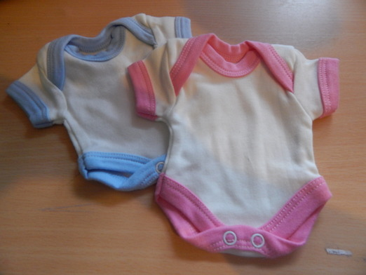 preterm loss premature baby clothes bereavement vests up to 1.5lb blue or pink