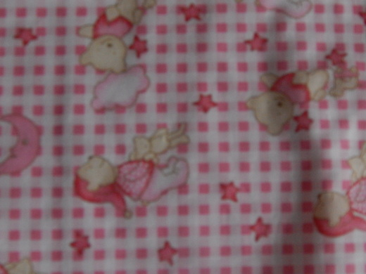 Baby Loss bereavement Pink TEDDIES IN SLUMBERLAND preemie burial blanket 22-24w