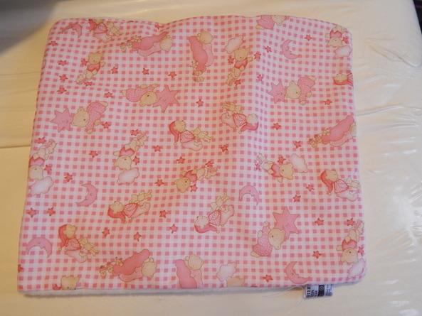 Baby Loss bereavement Pink TEDDIES IN SLUMBERLAND preemie burial blanket 22-24w