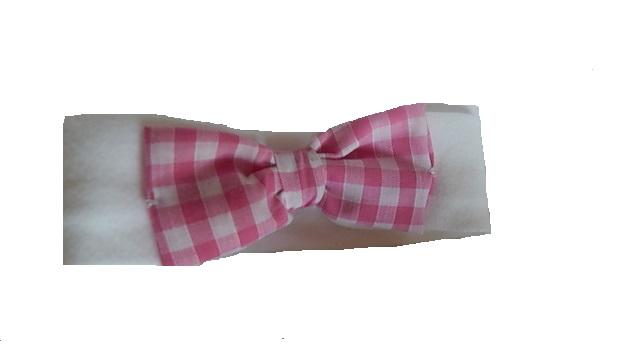 pretty pink head band premature babies CHECKED 3-5lb