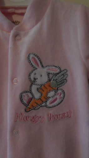 tiny premature baby grow Girls BEST BUNNY 5 - 8 lb pink clothes