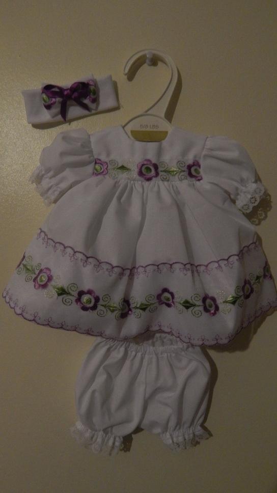 smallest babies dresses delightful dress set premature baby tiny 2-3lb LILY