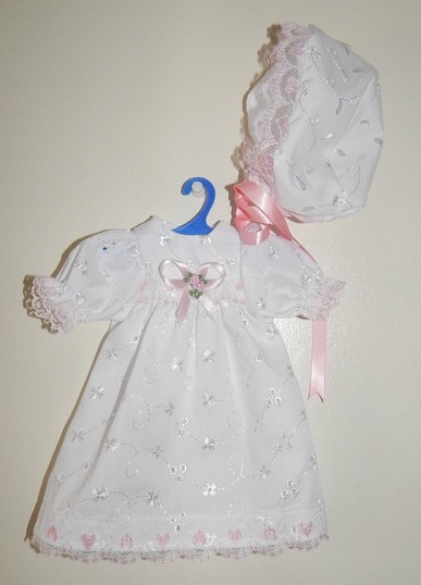 girls baby bereavement dress set dress sizes 0-1lb born 23-24 weeks LOVING YOU