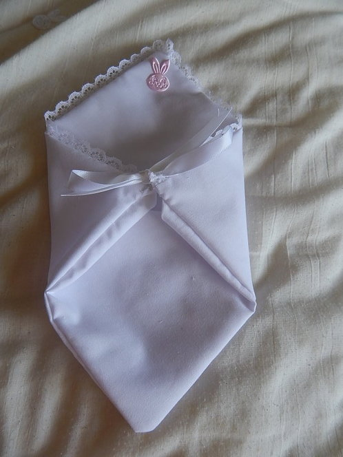 angel baby pouches here fetal demise pouch LITTLE RABBIT pink 16-17w
