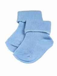 warm tiny Baby newborn socks 5-8LB boys BLUE CHERUB