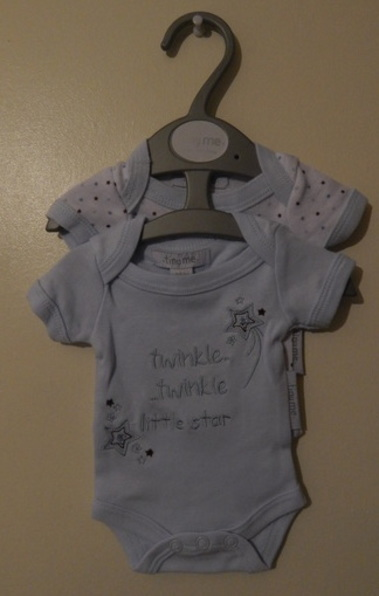 boys premature babies vests pack 2 LITTLE STAR 5-8LB small