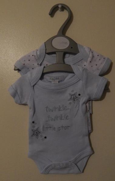 boys premature babies vests pack 2 LITTLE STAR 5-8LB small
