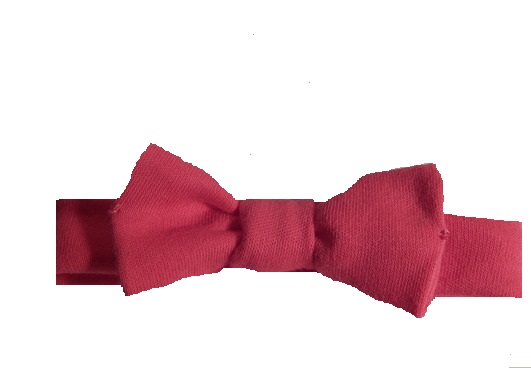 tiny preterm birth headbands for babies BRIGHT PINK in 2-3lb