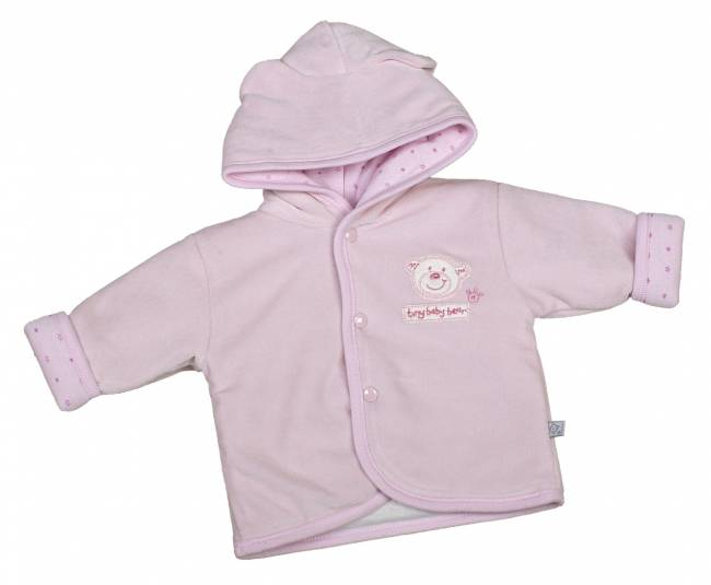 Premature baby coat Tiny Jacket in 3-5lb PINK TED the bear