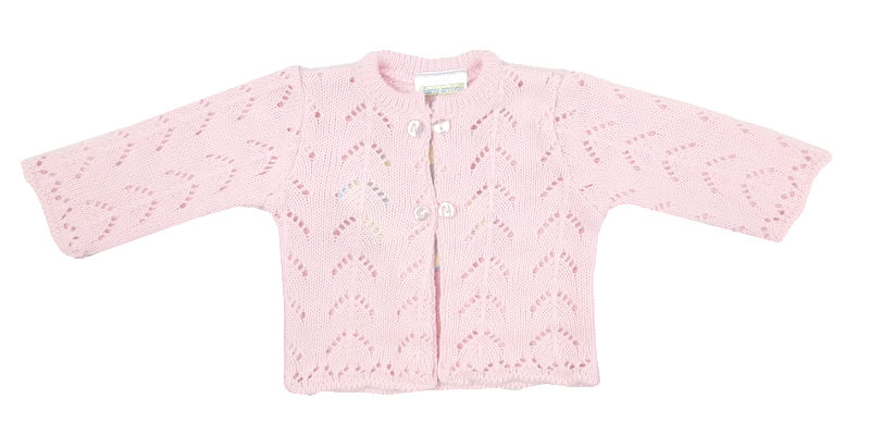 cardigans premature baby clothes tiny babies knit Cardigan 5-8lb blissful baby Pink