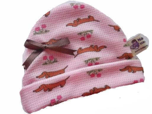 premature baby hat HARRIET the HOUNDDOG 3-5LB
