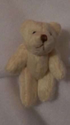 miscarried baby loss teddies 6cm CHUNKS cream teddy bear memory box