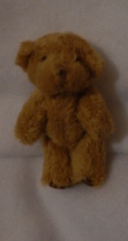 miscarried baby teddy bear tiny only 6cm Tan bear MUNGO funeral bereavement