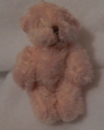 baby loss bereavement babies memory box teddy 6cm RUFFLES Pink tiny teddies