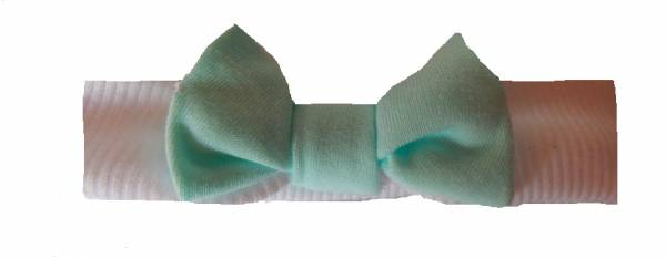 early baby headbands here SPEARMINT headband premature babies  in 3-5lb