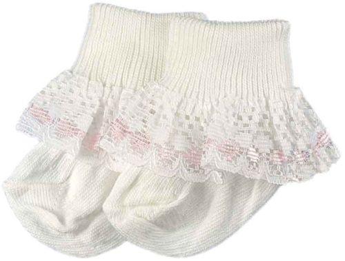Frilly premature baby socks 5-8lb PRETTY POLLY 000 socks tiny baby