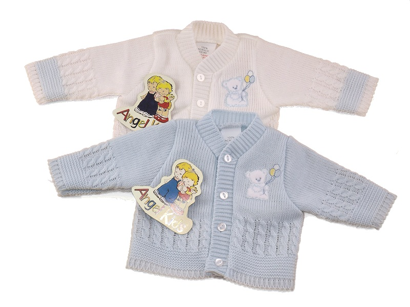 premature baby cardigans 3-5lb cosy knits ALL COLOURS boys