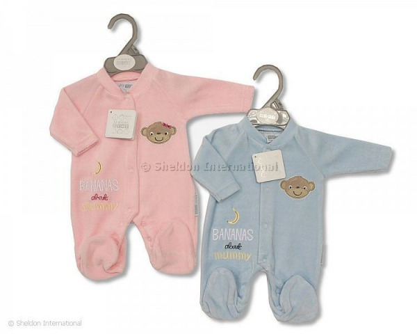girls premature baby clothes PINK sleepsuit MONKEY MARVEL sizes 3-5lb or 5-8lb