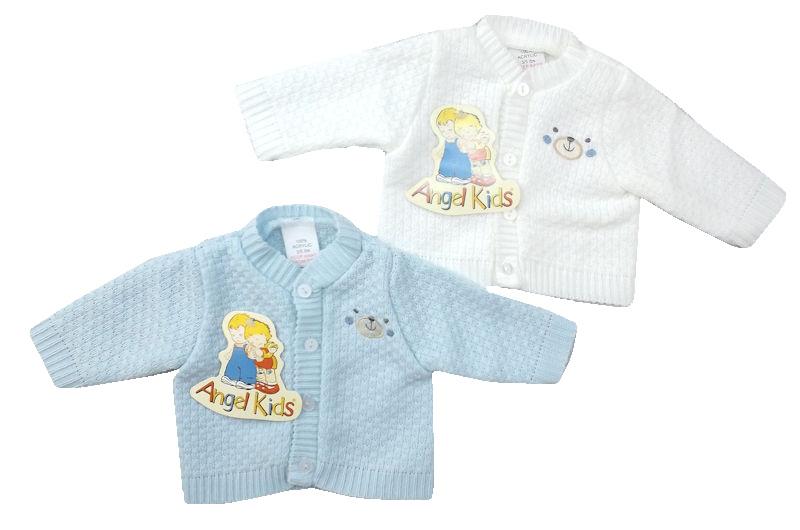 Boys Premature babies cardigan Blue PEAKABOO BEAR 3-5lb tiny baby