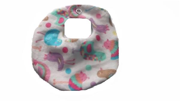prem baby bibs premature baby bib sizes 2-3lb PERKY PEACOCK accessories