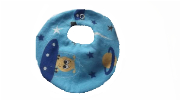 designer baby bibs premature babies sizes 2-3lb SUPER SPACESHIP small bibs