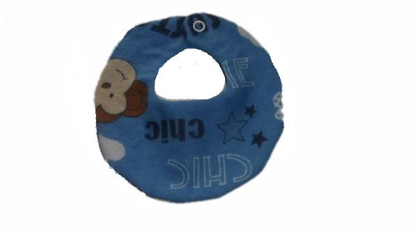 premature baby bibs MONKEY MARVEL 2-3lb  prem babies cute bib cotton