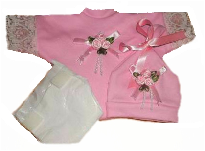 premature baby gown bereavement clothes FOREVER FAITHFUL baby loss at 20-22weeks