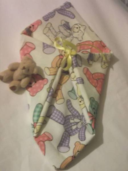 fetal demise pouch baby loss unisex 20cm SNOOZY BEAR