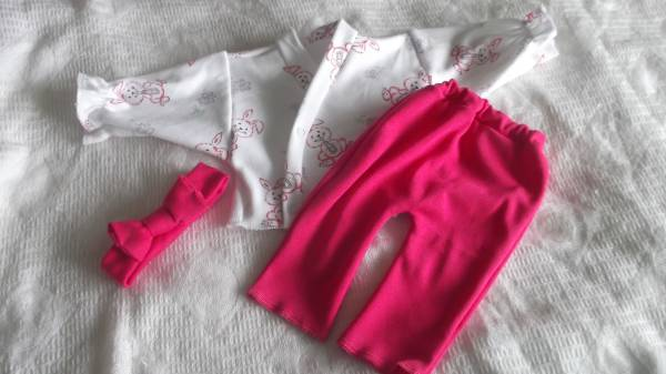 premature baby clothing Pink GIRLS BONNIE BUNNIES complete outfit 5lb - 8lb