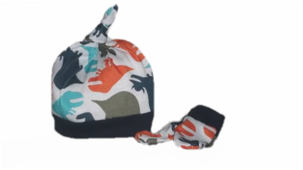 Boys premature clothes baby DYNAMIC DINOSAURS hat mittens 3-5lb