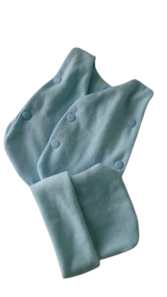 tiny premature babies  vest set Blue 1-2 lb neonatal babies sizes