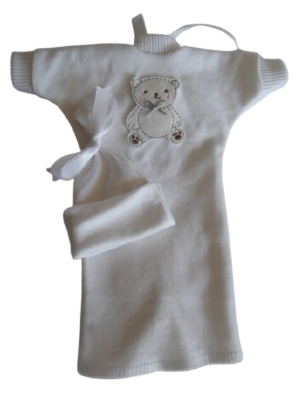 baby clothes white