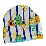 colourful premature babies hats boys LITTLE LETTERS 1-2lb