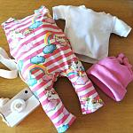 premature infant clothes baby outfits 3-5lb girls DAYDREAM DELIGHT